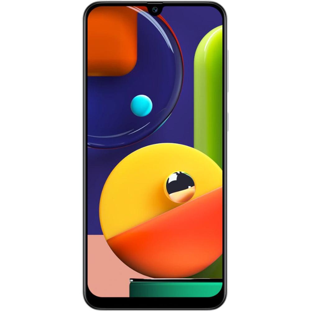 Telefon mobil Samsung Galaxy A50s, Dual SIM, 128GB, 6GB RAM, 4G, Prism Crush White