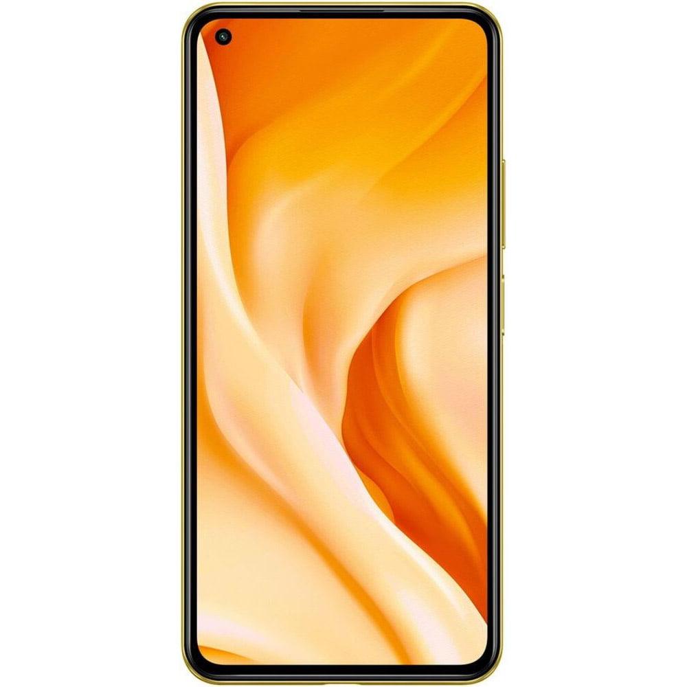 Telefon mobil Xiaomi Mi 11 Lite, Dual SIM, 128GB, 6GB RAM, 5G, Citrus Yellow