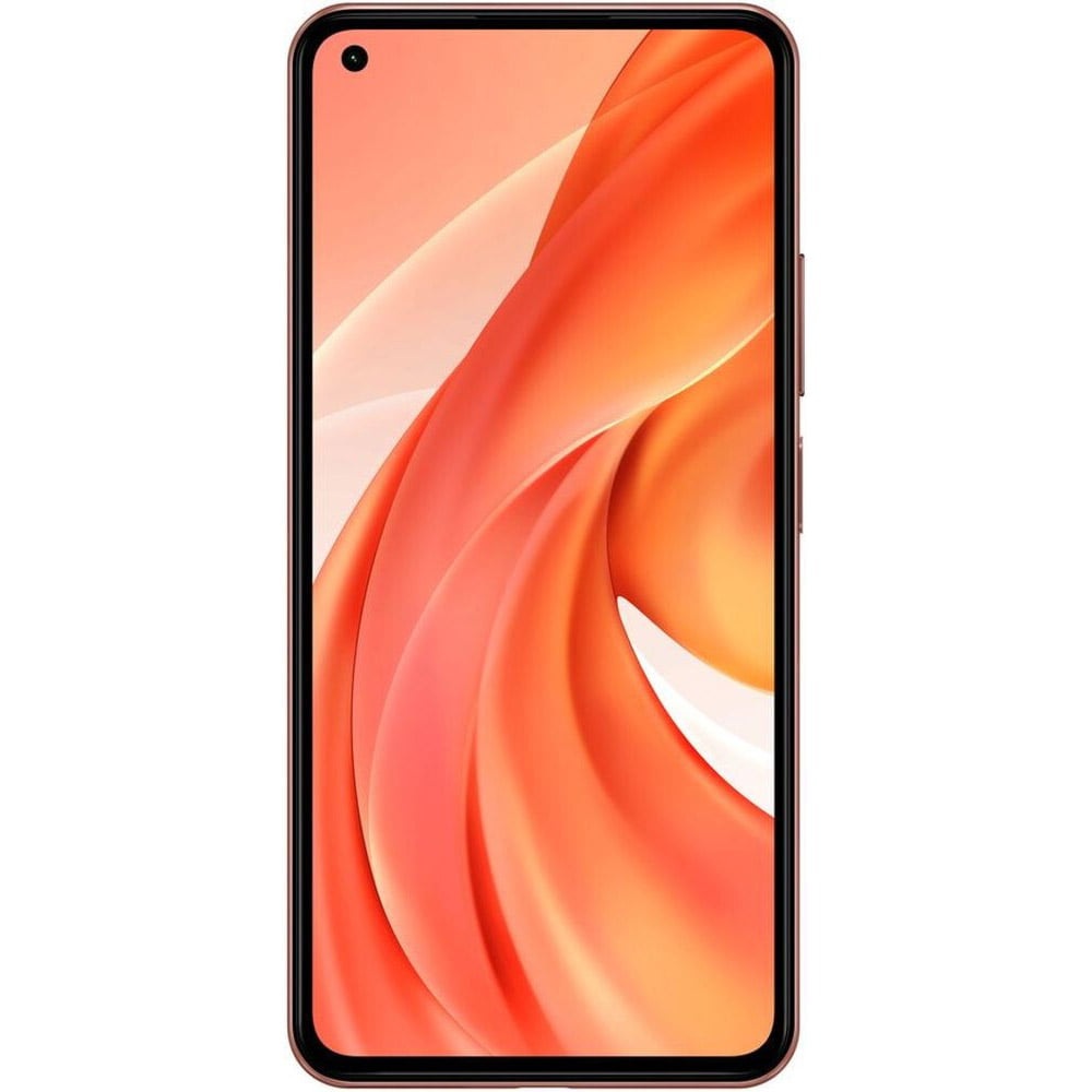 Telefon mobil Xiaomi Mi 11 Lite, Dual SIM, 128GB, 8GB RAM, 4G, Peach Pink