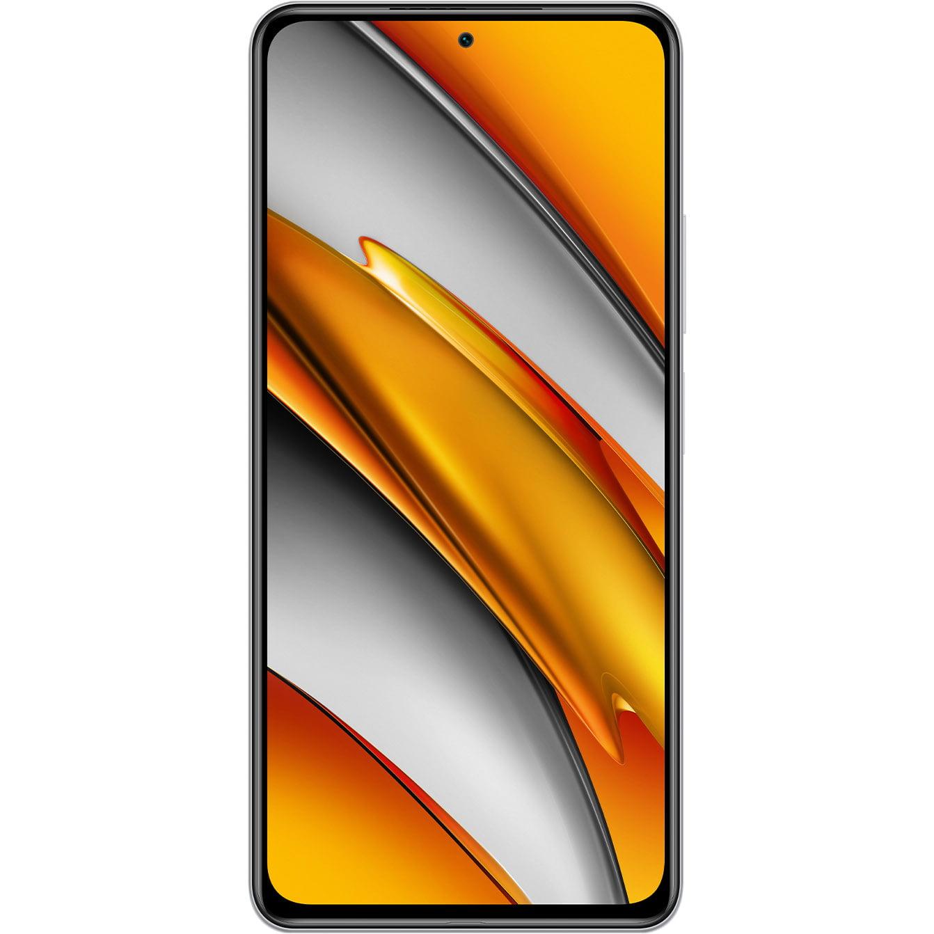Telefon mobil Xiaomi Poco F3, Dual SIM, 128GB, 6GB RAM, 5G, Arctic White