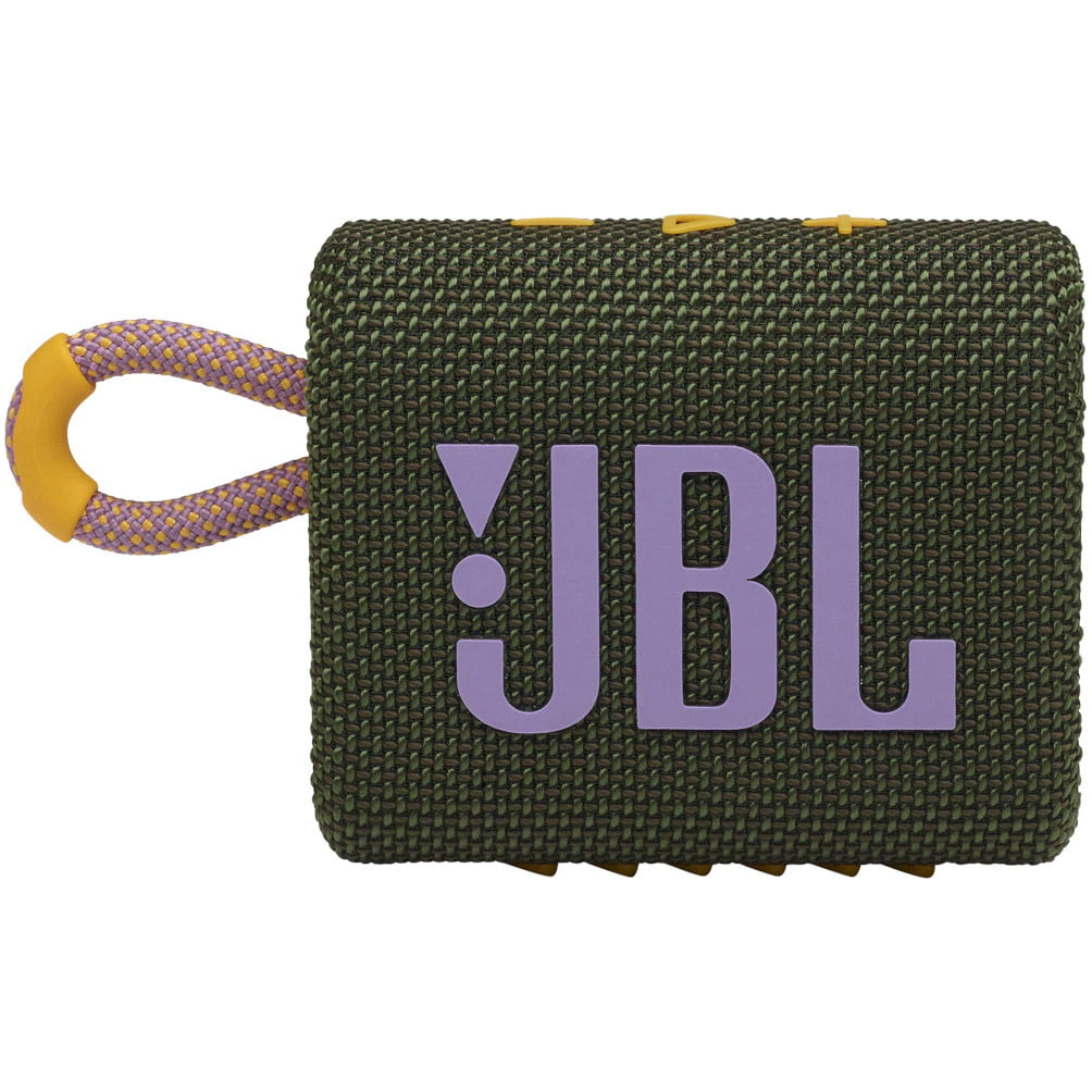 Boxa portabila JBL GO 3, Wireless, Bluetooth, IPX7 Waterproof, Green/ Pink