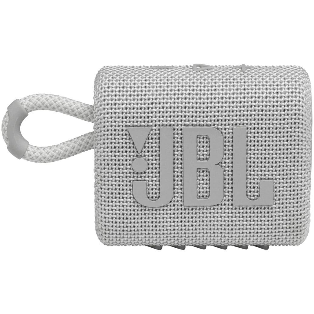 Boxa portabila JBL GO 3, Wireless, Bluetooth, IPX7 Waterproof, White