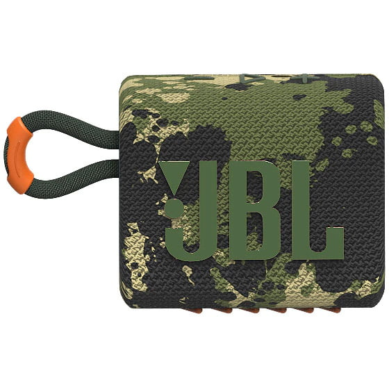 Boxa portabila JBL GO 3, Wireless, Bluetooth, IPX7 Waterproof, Squad