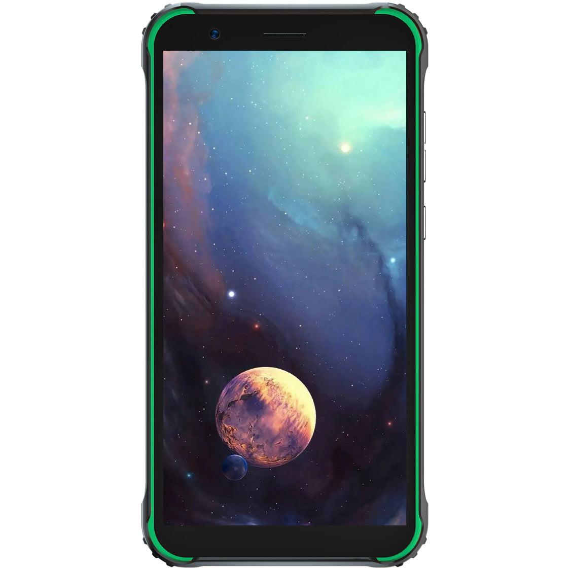 Telefon mobil Blackview BV4900, Dual SIM, 32GB, 3GB RAM, 4G, Green