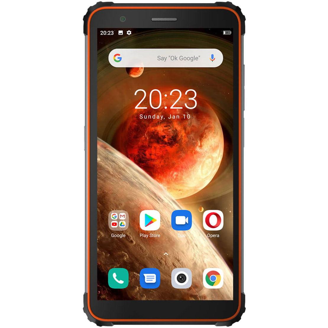 Telefon mobil Blackview BV6600, Dual SIM, 64GB, 4GB RAM, 4G, Orange