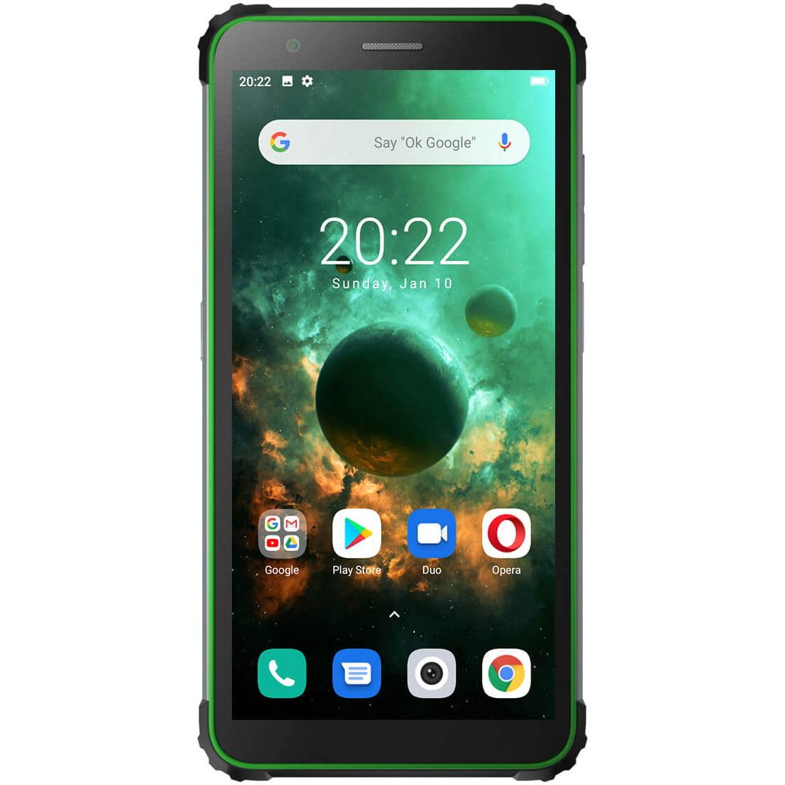 Telefon mobil Blackview BV6600, Dual SIM, 64GB, 4GB RAM, 4G, Green