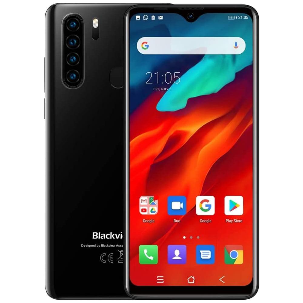 Telefon mobil Blackview A80 Plus, Dual SIM, 16GB, 4GB RAM, 4G, Midnight Black