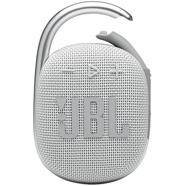 Boxa portabila JBL Clip 4, Bluetooth, IP67, 10H, White