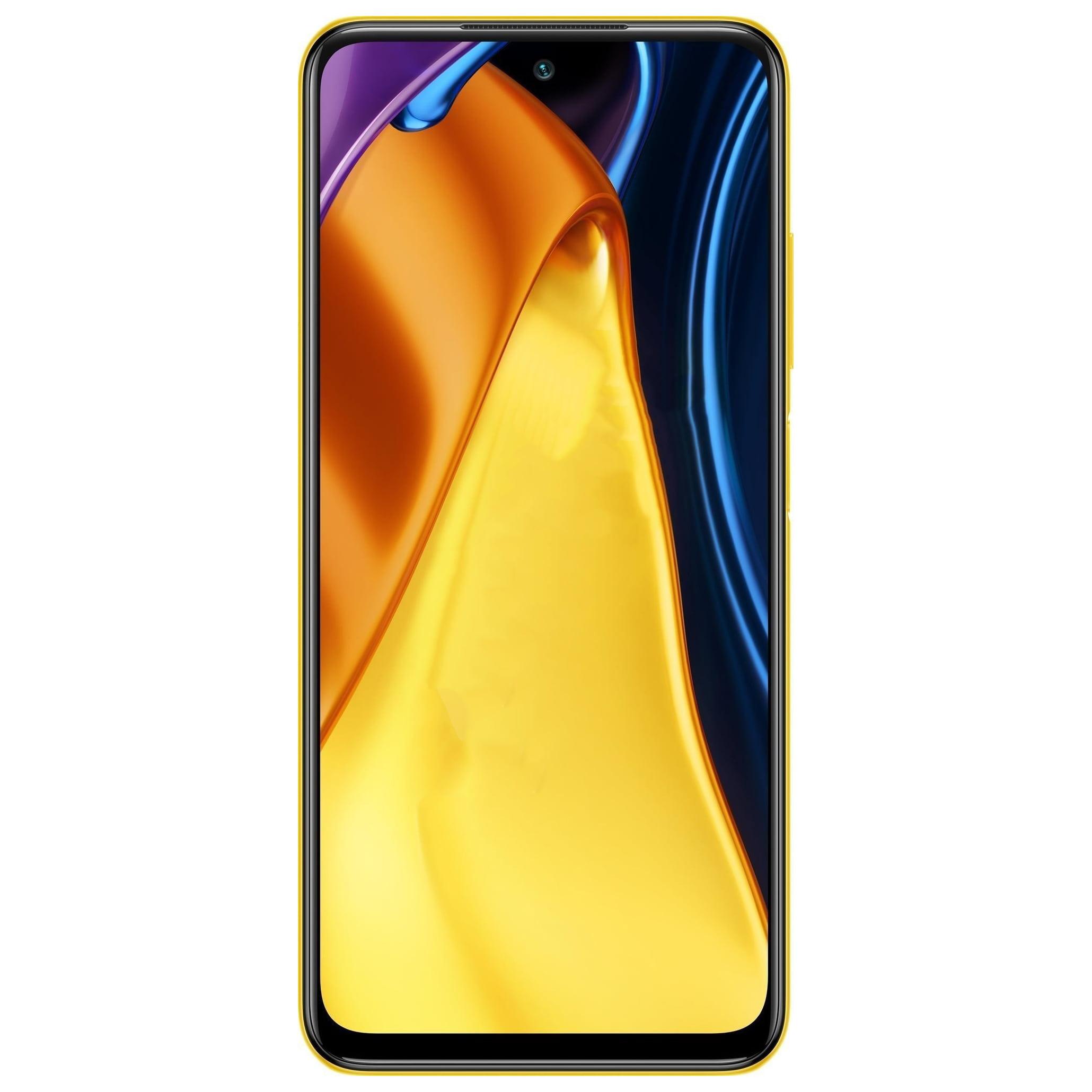 Telefon mobil Xiaomi Poco M3 Pro, Dual SIM, 64GB, 4GB RAM, 5G, Poco Yellow