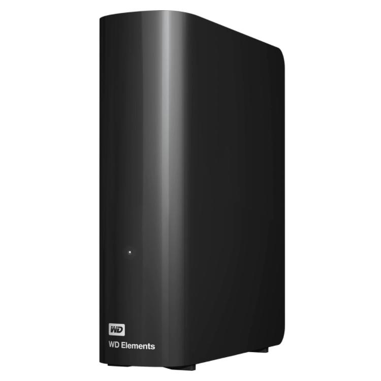 HDD extern Western Digital Elements Desktop, WDBWLG0140HBK, 2.5″, USB 3.0, 14TB, Black