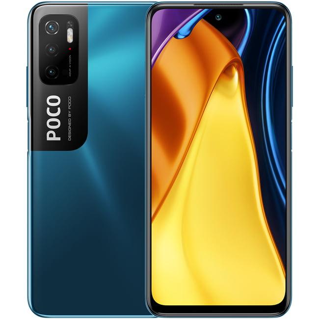Telefon mobil Xiaomi Poco M3 Pro, Dual SIM, 128GB, 6GB RAM, 4G, Cool Blue