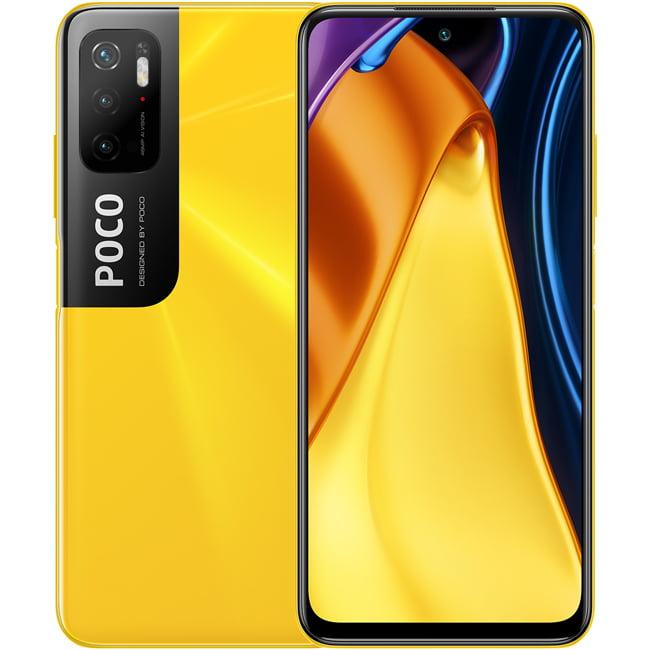 Telefon mobil Xiaomi Poco M3 Pro, Dual SIM, 64GB, 4GB RAM, 4G, Poco Yellow