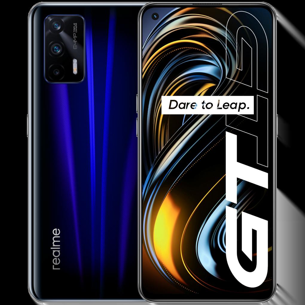 Telefon mobil Realme GT, Dual SIM, 256GB, 12GB RAM, 5G, Dashing Blue