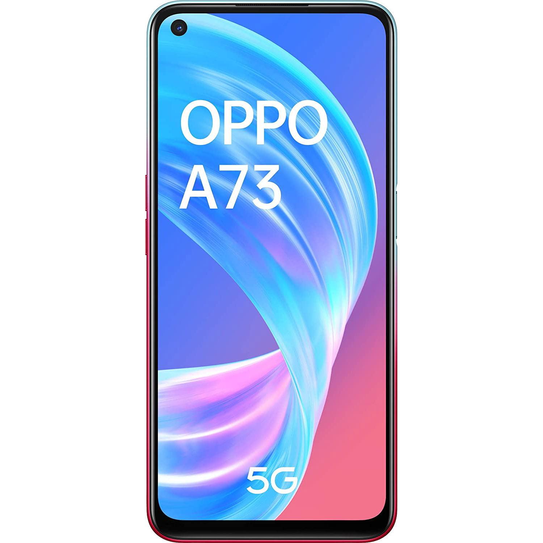 Telefon mobil Oppo A73, Dual SIM, 128GB, 8GB RAM, 5G, Neon