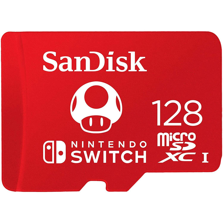 Card de memorie SanDisk microSDXC, SDSQXAO-128G-GNCZN, 128GB, Class 10, UHS-I, 533x, 100 MB/s