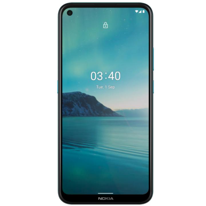 Telefon mobil Nokia 3.4, Dual Sim, 32GB, 3GB RAM, 4G, Blue