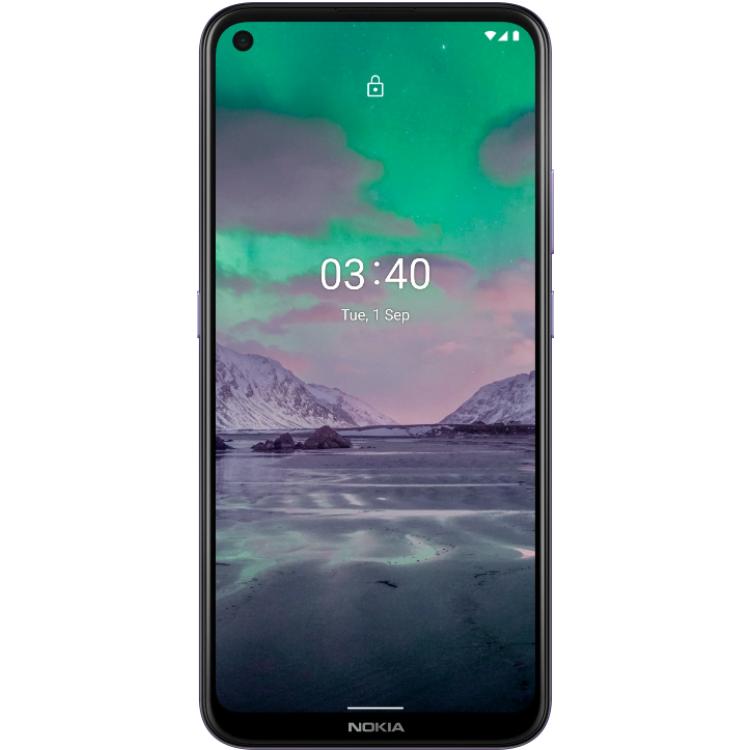 Telefon mobil Nokia 3.4, Dual Sim, 32GB, 3GB RAM, 4G, Purple