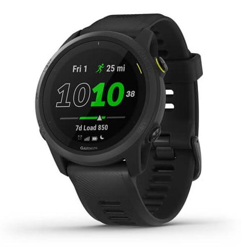 Ceas Smartwatch Garmin Forerunner 745, 30 mm, HR, GPS, Black