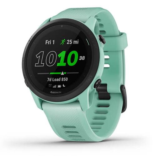 Ceas Smartwatch Garmin Forerunner 745, 30 mm, HR, GPS, Neo Tropic