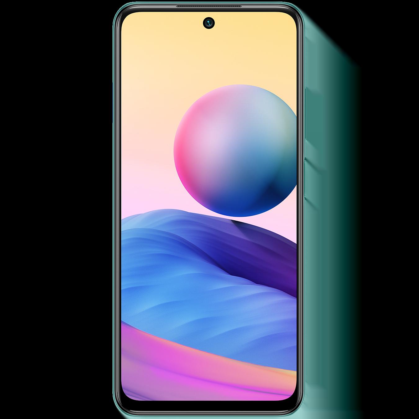 Telefon mobil Xiaomi Redmi Note 10, Dual SIM, 128GB, 4GB RAM, 5G, Aurora Green