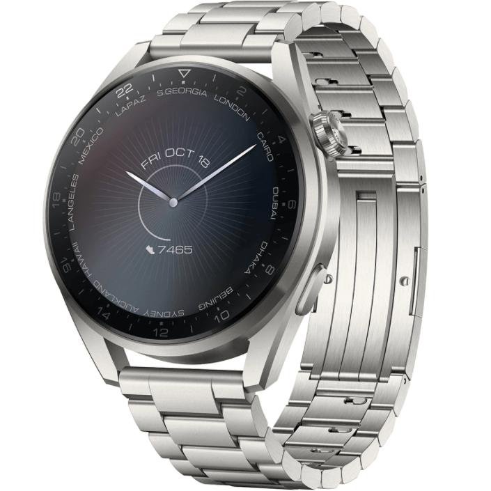Ceas Smartwatch Huawei Watch 3 Pro, 48mm, GPS, HR, Titanium