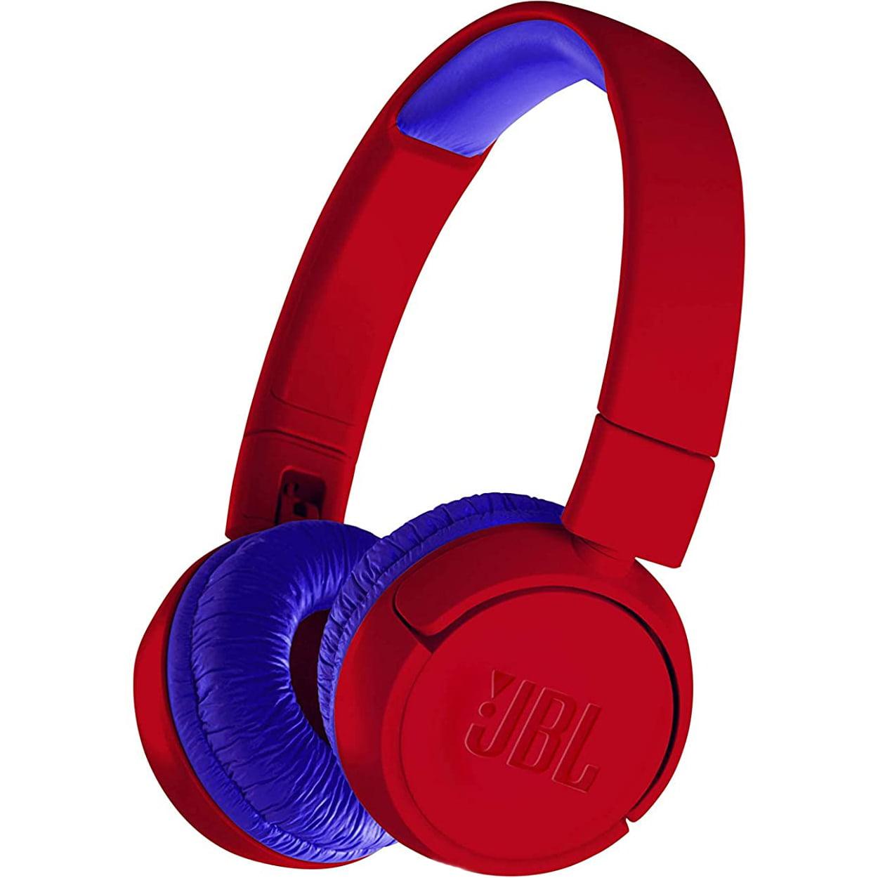 Casti audio On-Ear JBL JR300, Safe Sound, Bluetooth, Red
