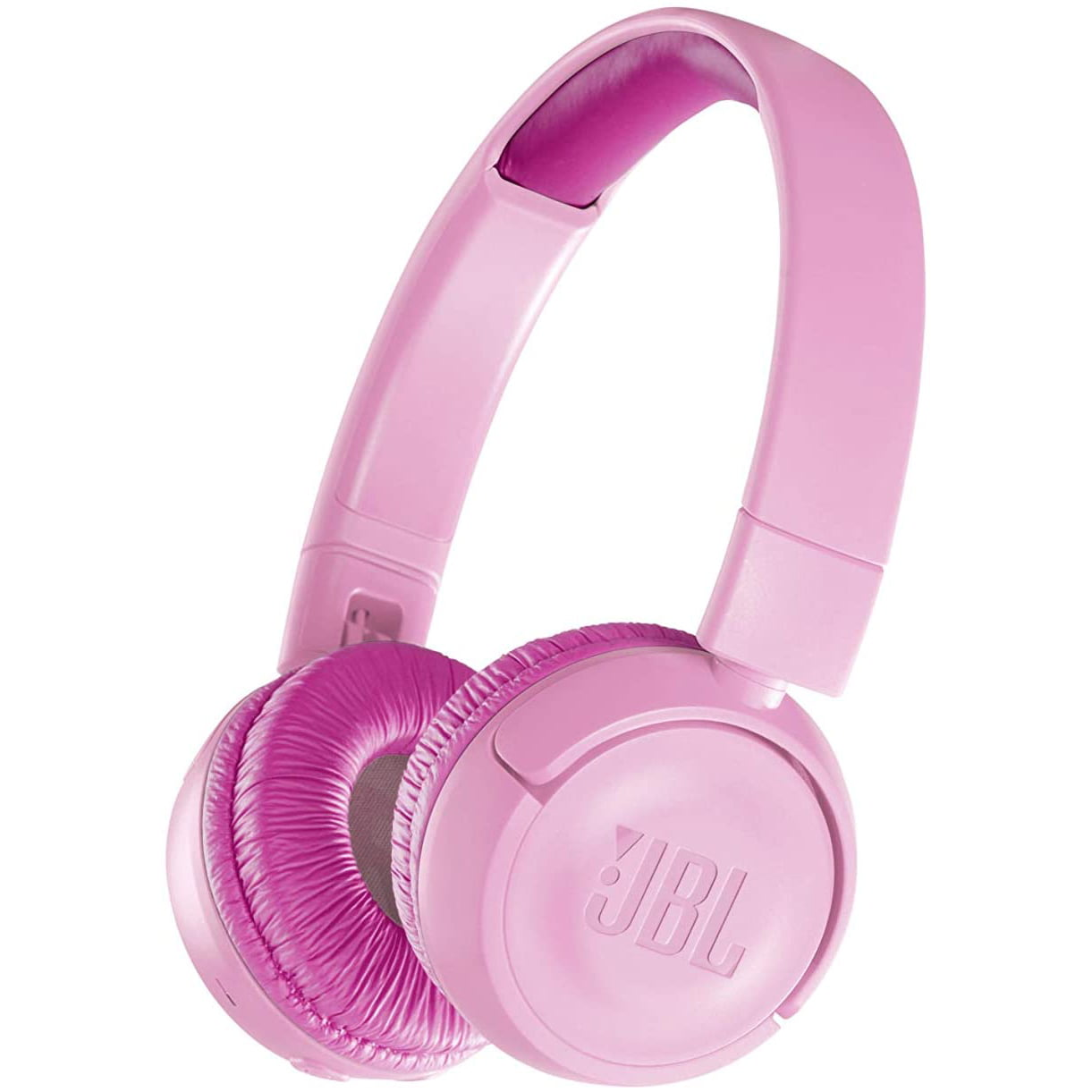 Casti audio On-Ear JBL JR300, Safe Sound, Bluetooth, Light Pink