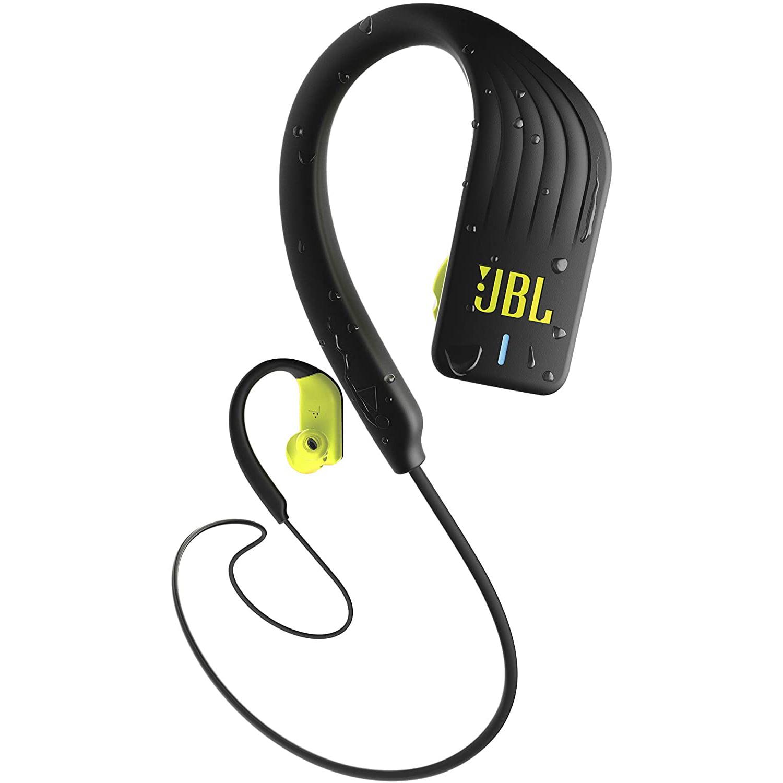Casti In-Ear JBL Endurance Sprint, Wireless, Bluetooth, IPX7, Yellow