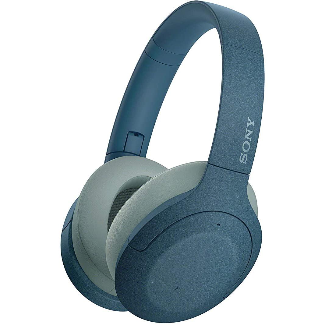 Casti audio Over-Ear Sony WHH910NL, Bluetooth, Microfon, Noise Cancelling, Blue