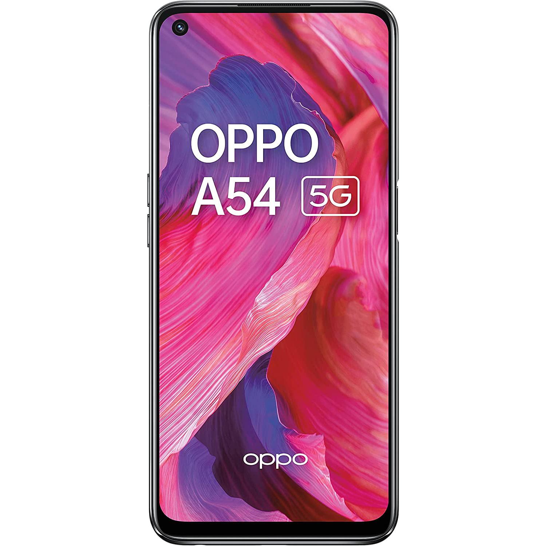 Telefon mobil Oppo A54 5G, Dual SIM, 128GB, 4GB RAM, 5G, Fluid Black