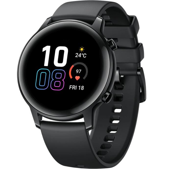 Ceas Smartwatch Honor Watch Magic 2, 42 mm, HR, GPS, Black
