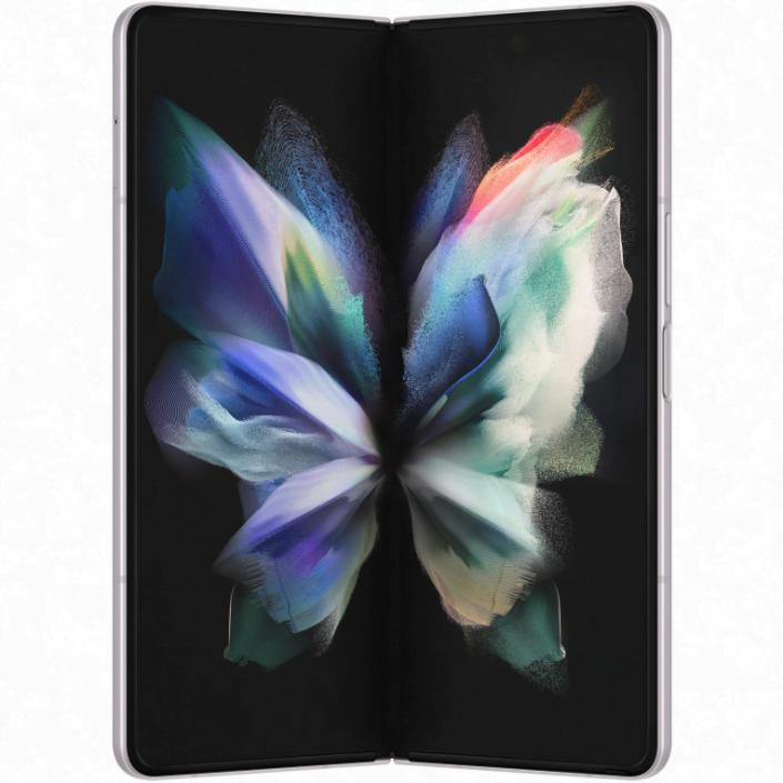 Telefon mobil Samsung Galaxy Z Fold3, 12GB RAM, 512GB, 5G, Phantom Silver