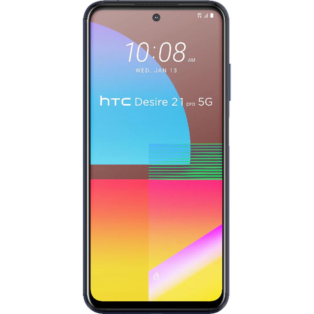 Telefon mobil HTC Desire 21 Pro, Dual SIM, 128GB, 8GB RAM, 5G, Blue