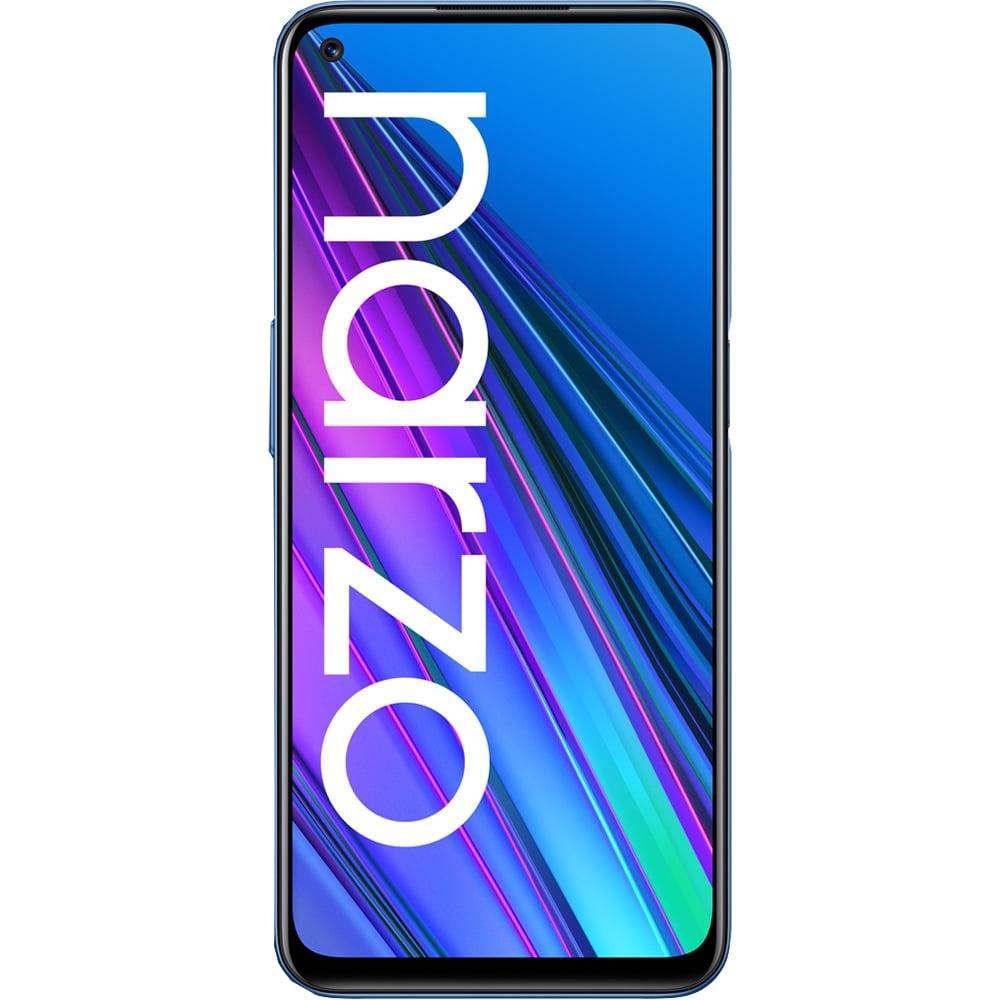 Telefon mobil Realme Narzo 30, Dual SIM, 128GB, 6GB RAM, 5G, Racing Blue