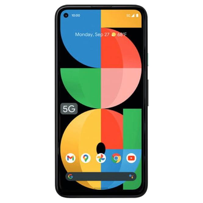 Telefon mobil Google Pixel 5a, 128GB, 6GB RAM, 5G, Mostly Black