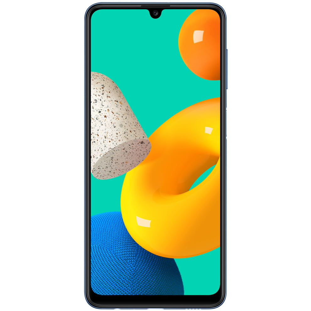 Telefon mobil Samsung Galaxy M32, Dual SIM, 64GB, 4GB RAM, 4G, Blue