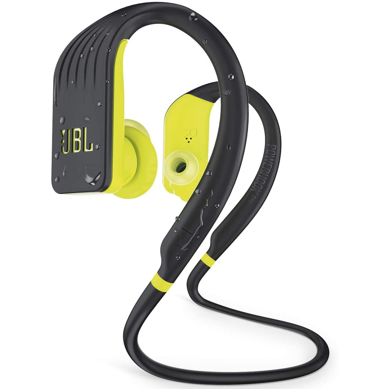 Casti In-Ear JBL Endurance Jump, Wireless, Bluetooth, Autonomie 8 ore, IPX7, Yellow