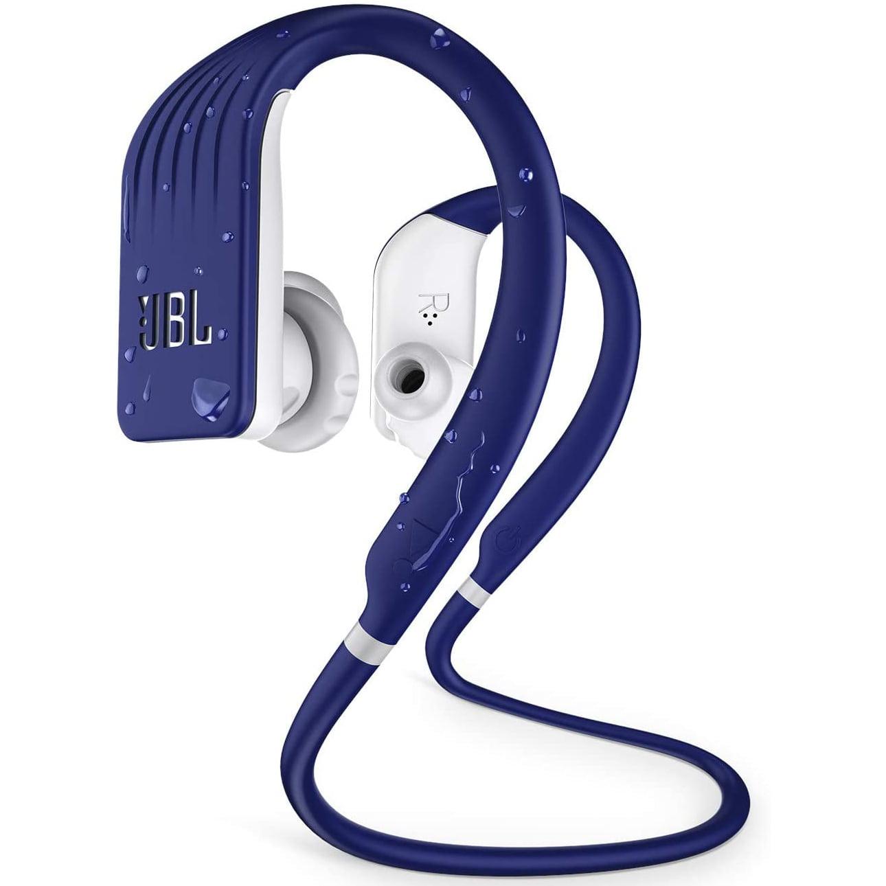 Casti In-Ear JBL Endurance Jump, Wireless, Bluetooth, Autonomie 8 ore, IPX7, Blue