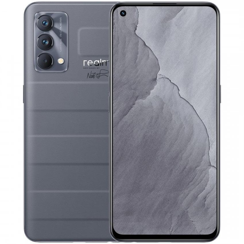 Telefon mobil Realme GT Master Edition, Dual SIM, 128GB, 6GB RAM, 5G, Voyager Grey