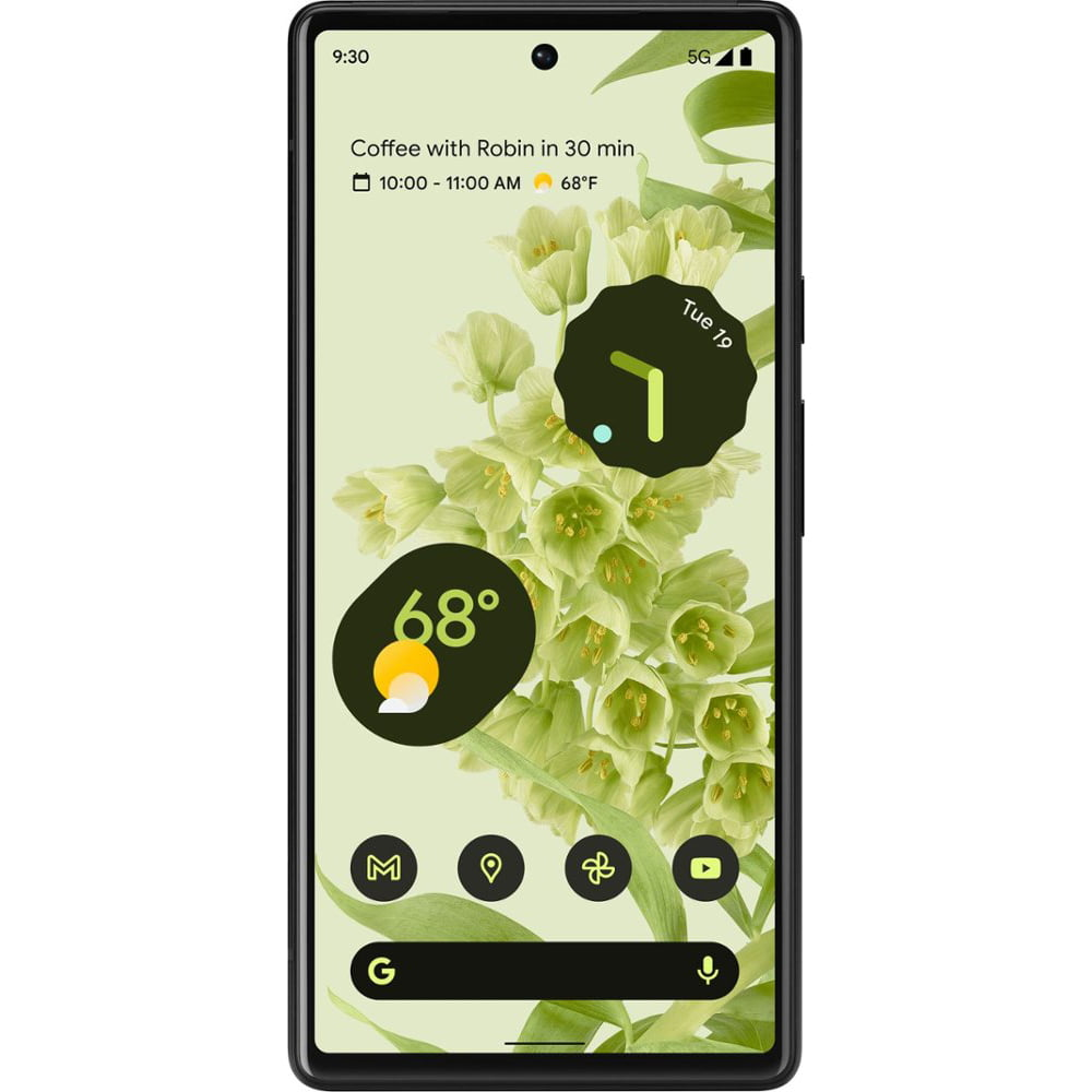 Telefon mobil Google Pixel 6, 128GB, 8GB RAM, 5G, Sorta Seafoam
