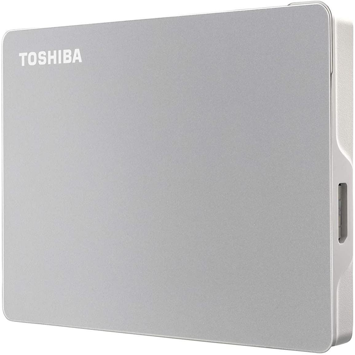 HDD extern Toshiba Canvio Flex, HDTX120ESCAA, 2TB, 2.5″, USB 3.2 Gen 1, Silver