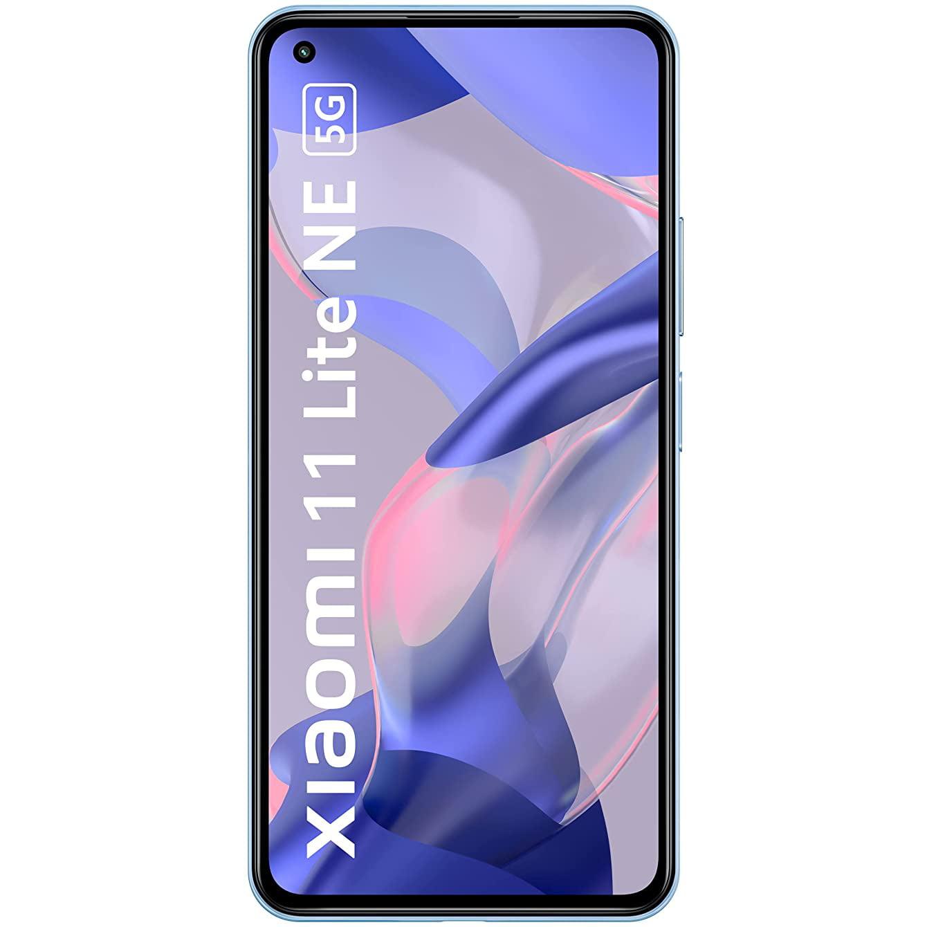 Telefon mobil Xiaomi Mi 11 Lite NE, Dual SIM, 128GB, 8GB RAM, 5G, Jazz Blue