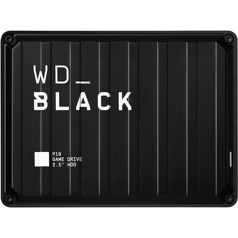 """HDD extern Western Digital Black P10 Game Drive, WDBA2W0030BBK-WESN, 2.5"""", USB 3.2 Gen1, 3TB, Black"""