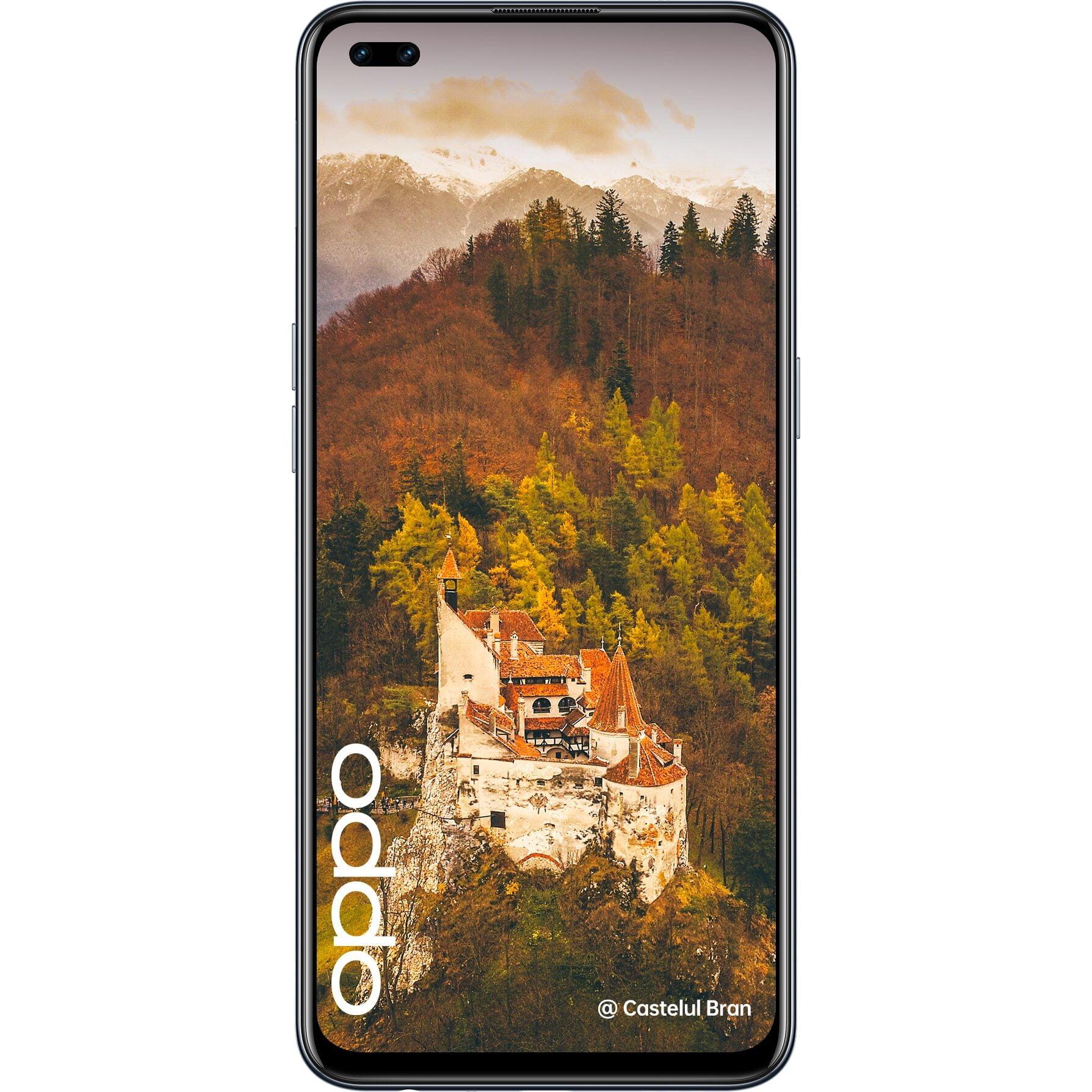 Telefon mobil Oppo Reno4 Lite, 128GB, 8GB RAM, 4G, Matte Black