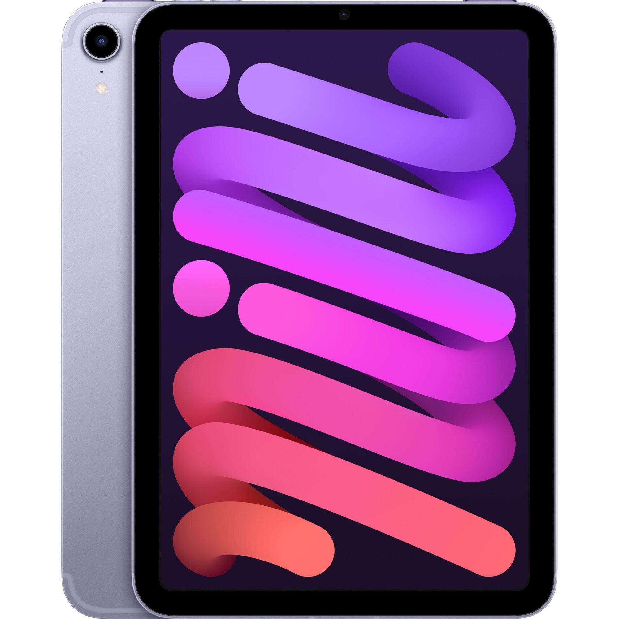 """Tableta Apple iPad mini 6 (2021), 8.3"""", 256GB, 4GB RAM, Wi-Fi + Cellular, Purple"""