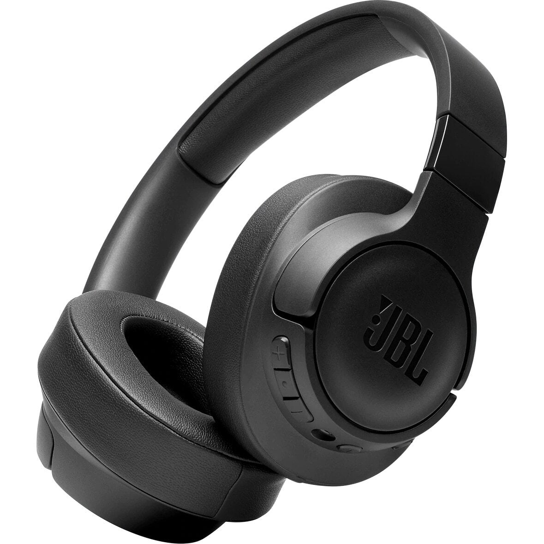 Casti audio Over-Ear JBL Tune 750, Wireless, Bluetooth, Noise cancelling, 15h, Black
