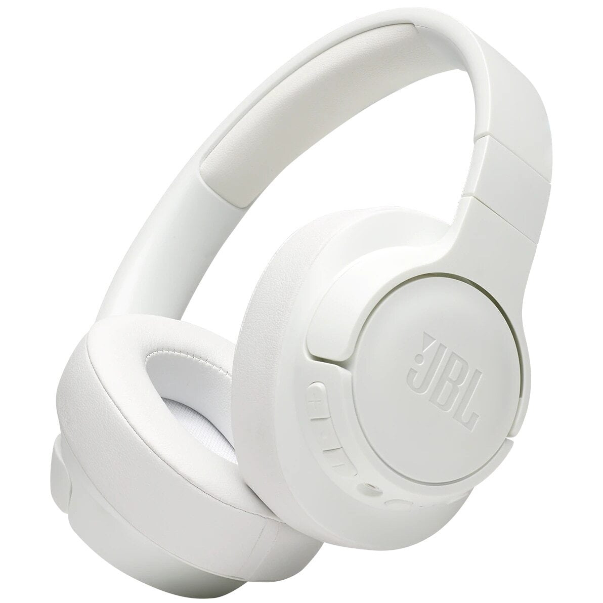 Casti audio Over-Ear JBL Tune 750, Wireless, Bluetooth, Noise cancelling, 15h, White
