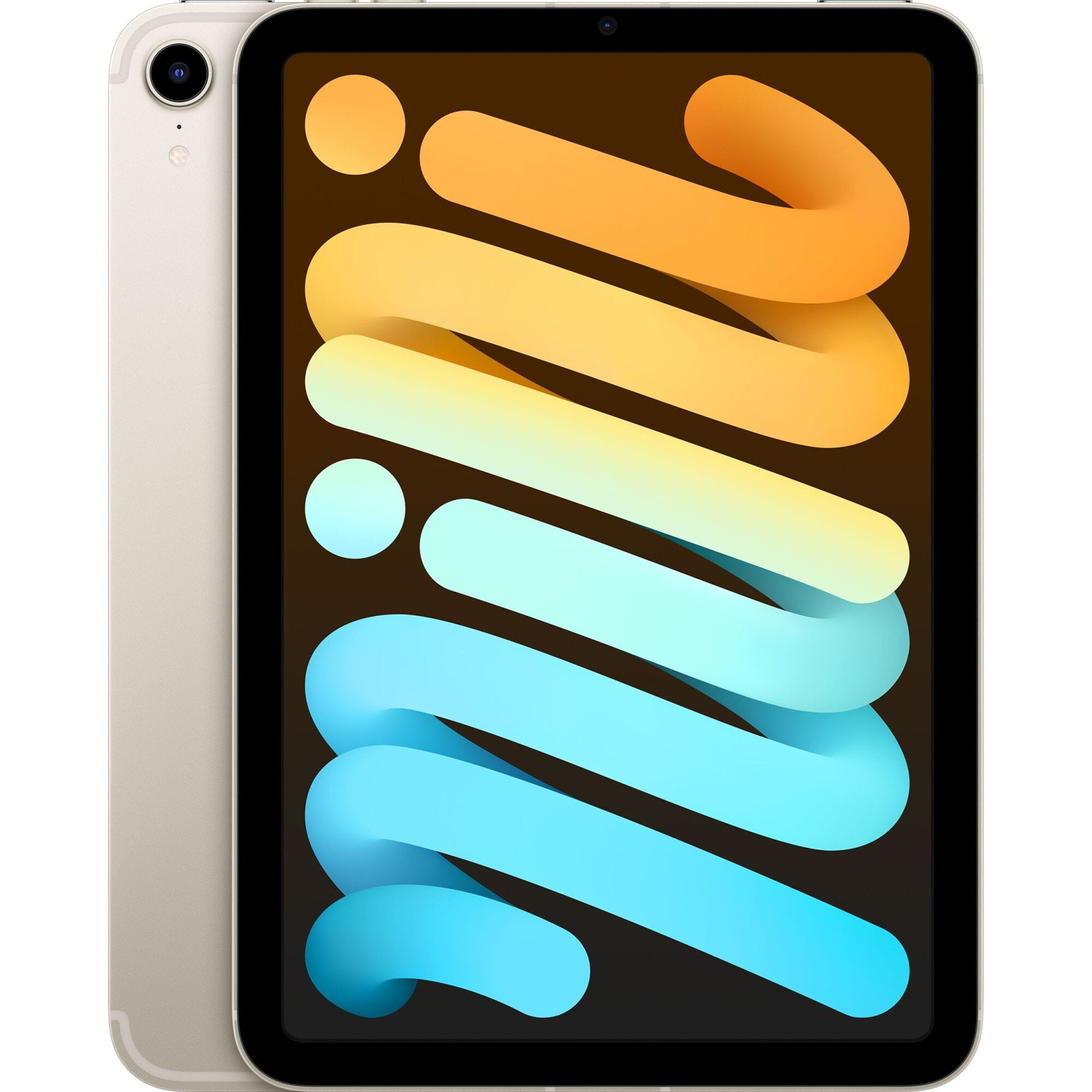 """Tableta Apple iPad mini 6 (2021), 8.3"""", 64GB, 4GB RAM, Wi-Fi + Cellular, Starlight"""