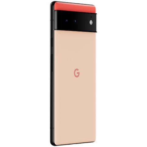 Telefon mobil Google Pixel 6, 128GB, 12GB RAM, 5G, Kinda Coral